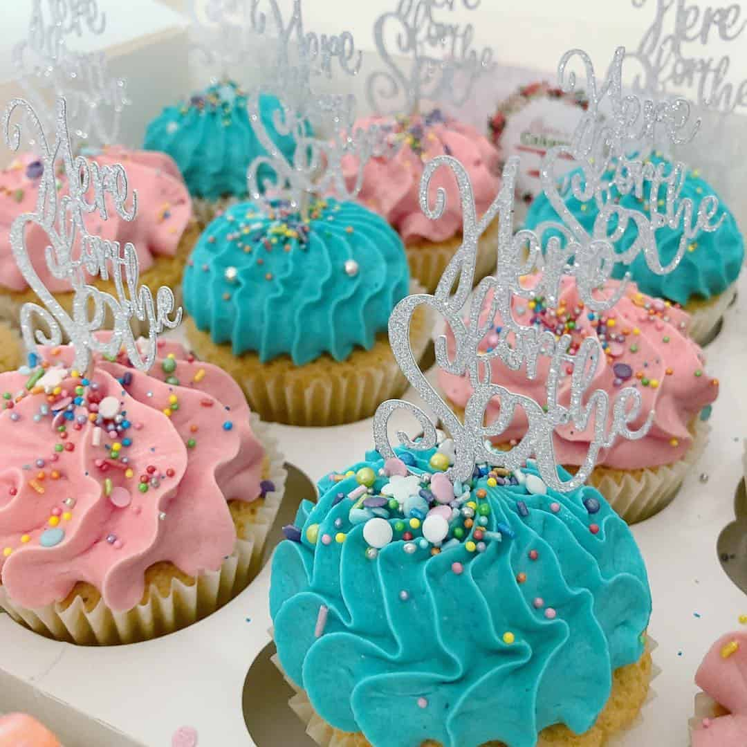 Gender reveal party cake ideas