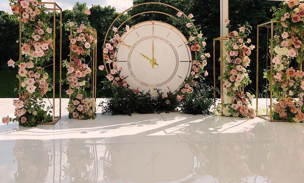 Round wedding arches