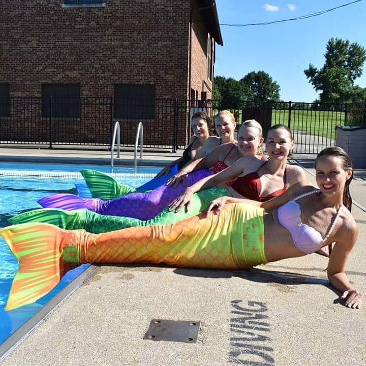 Mermaid bachelorette party