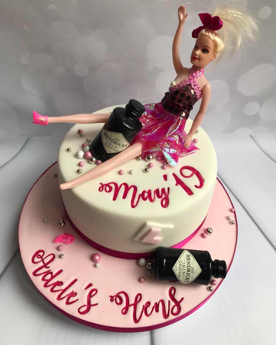 Barbie style Bachelorette party!