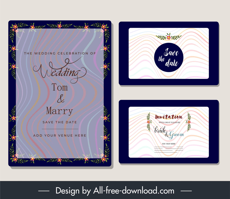 Sparkling Flower - Wedding Invitation