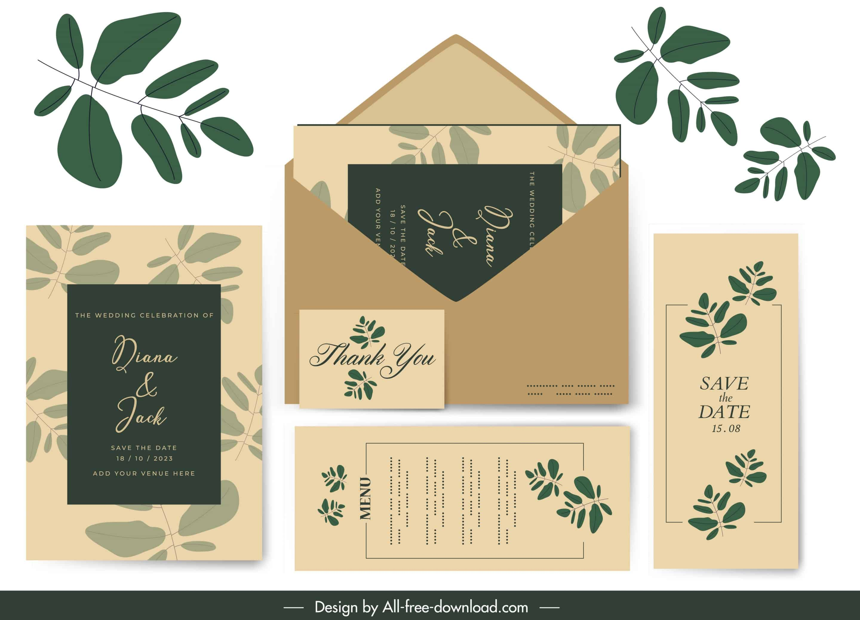 Fresh and Green - Wedding Invitation