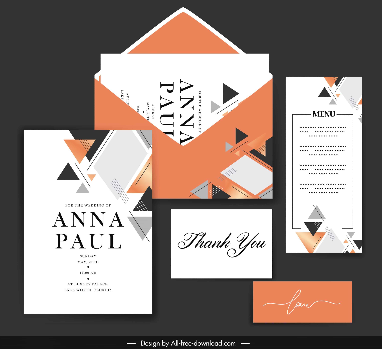 Abstract - Wedding Invitation