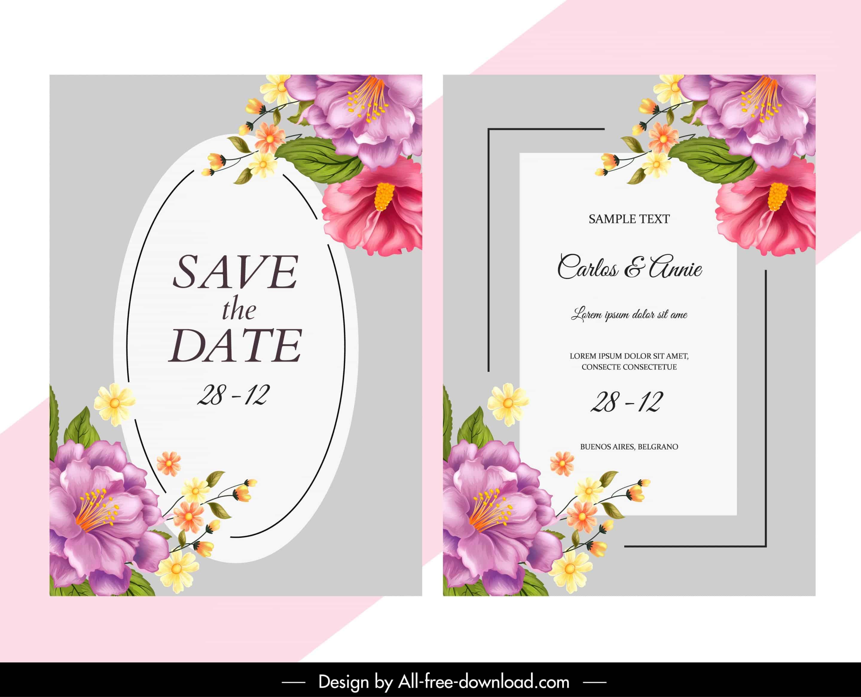 Elegant Floras - Wedding Invitation