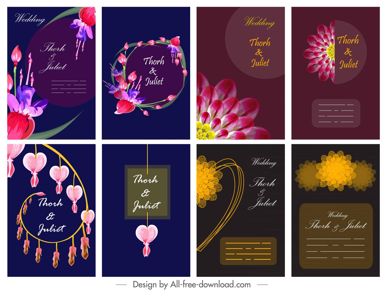Colourful Set - Wedding Invitations