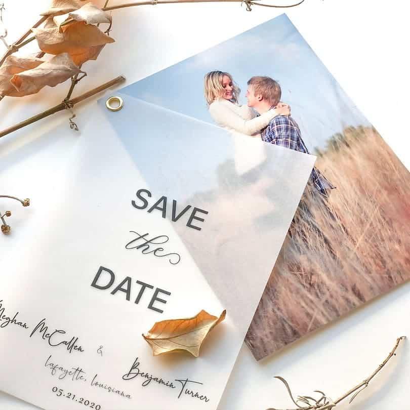 Ideas for wedding invitations