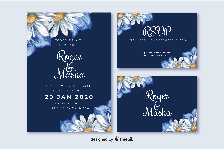 Daisy - Wedding Invitation