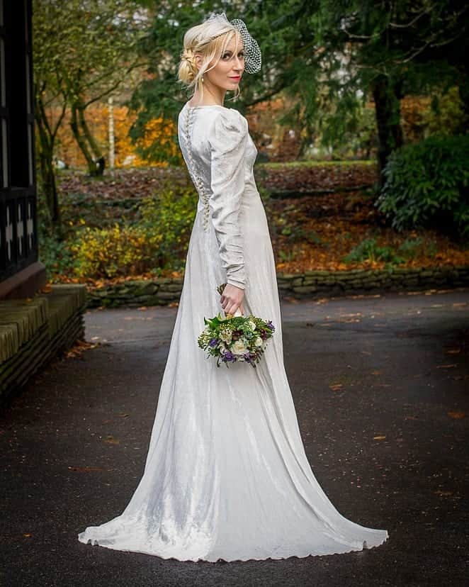 February - Winter wedding dress