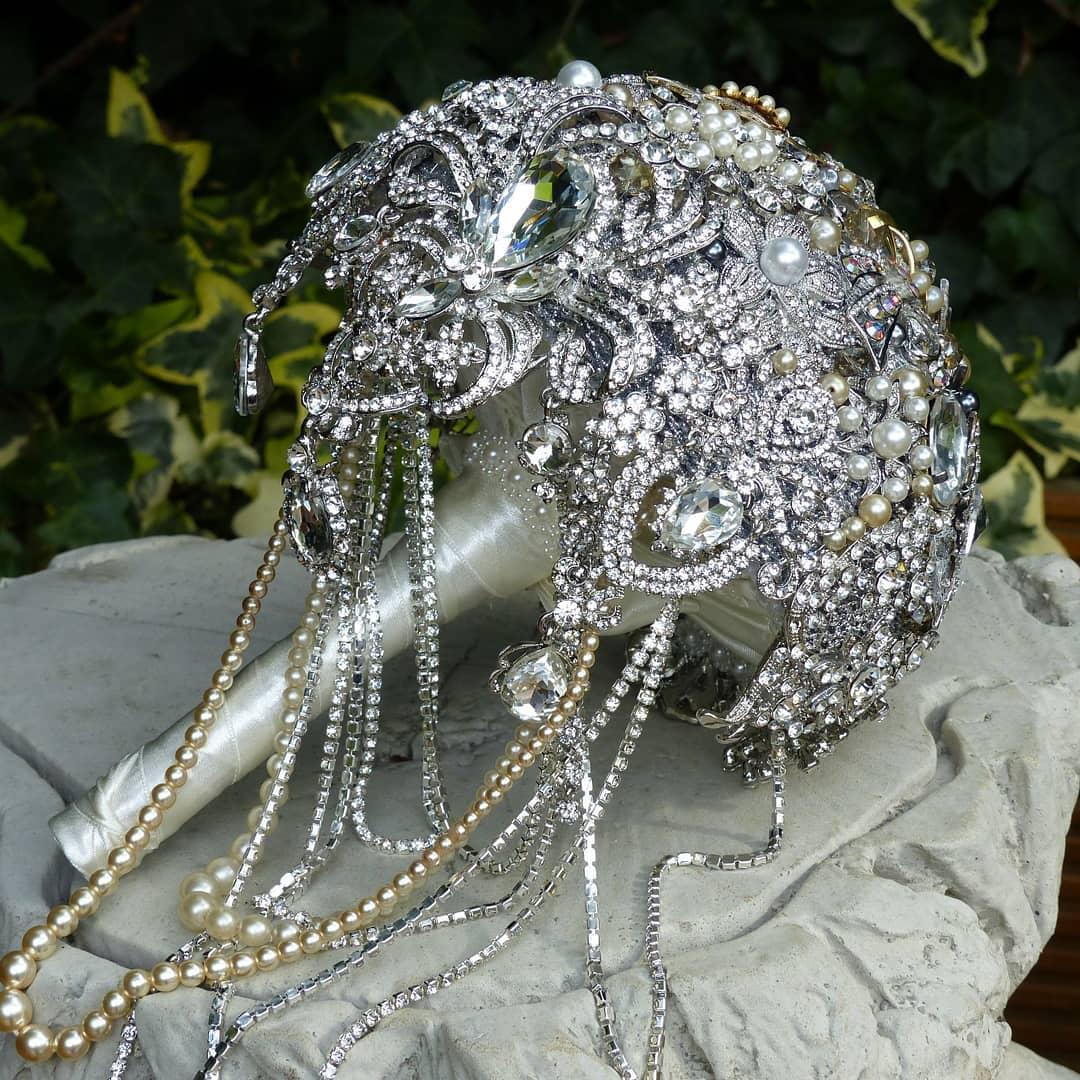 Unusual wedding bouquet