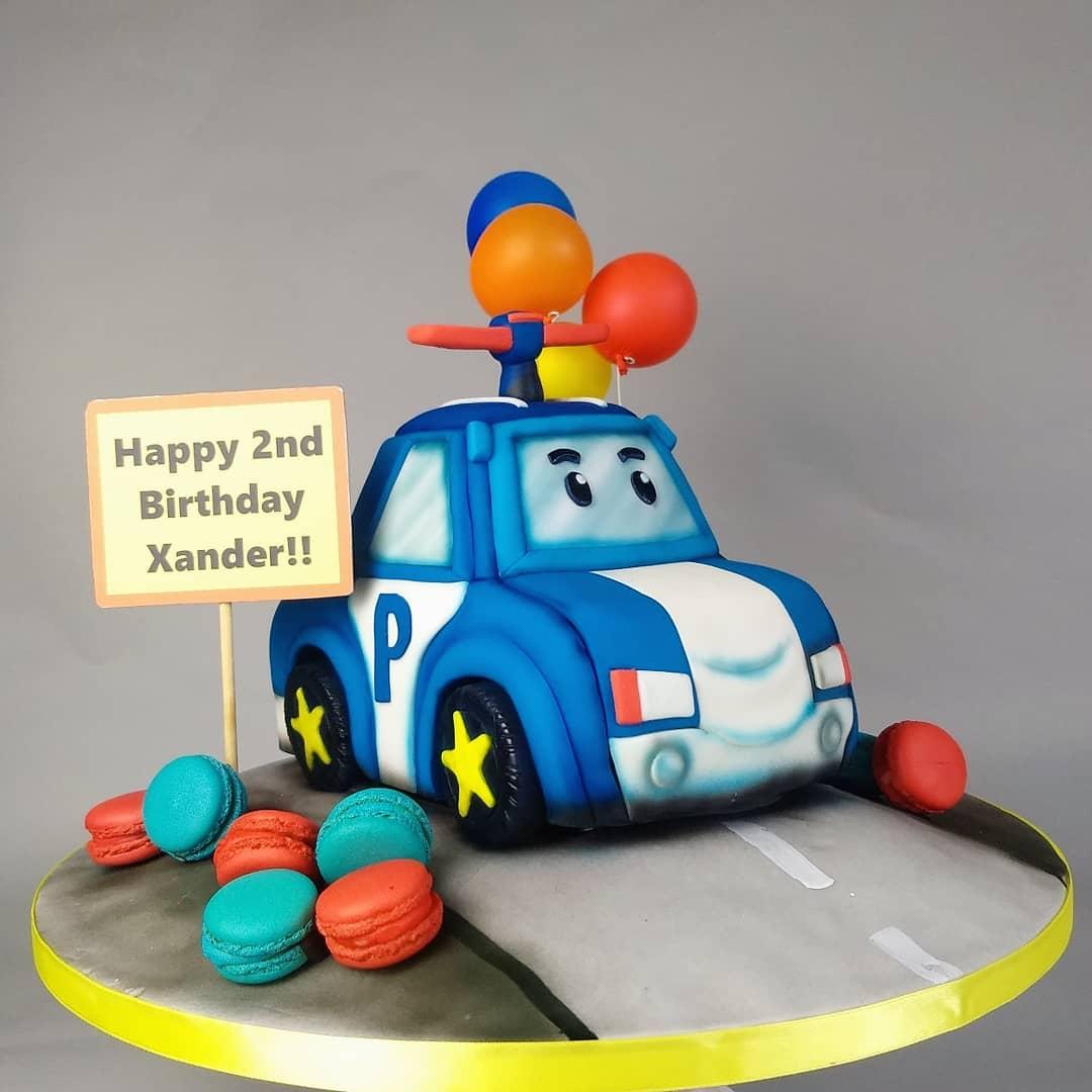 Robocar Poli - Birthday Cake